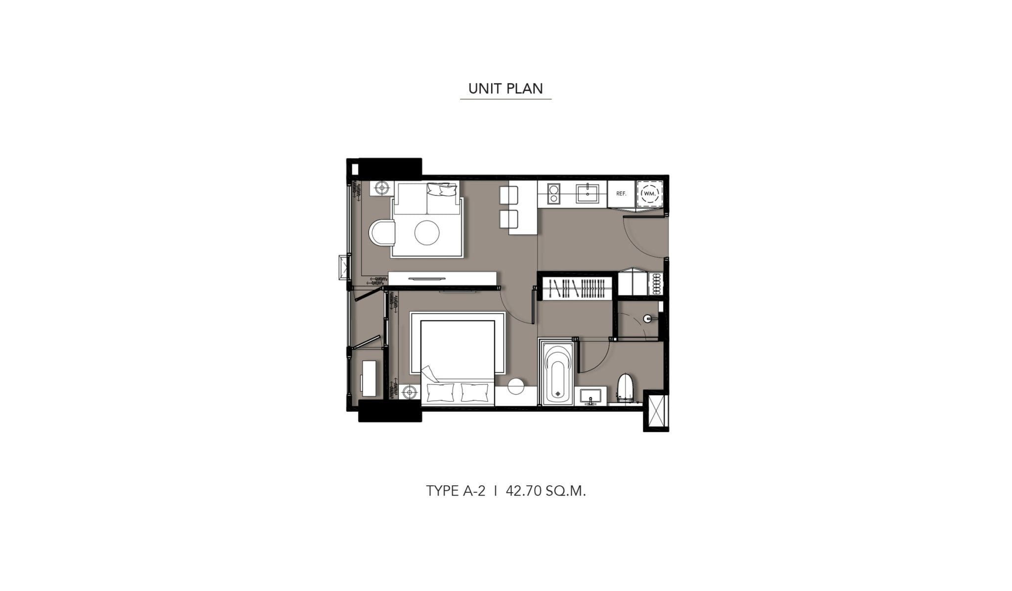 HYDE-Heritage-Thonglor-Floor Plan Type A-2