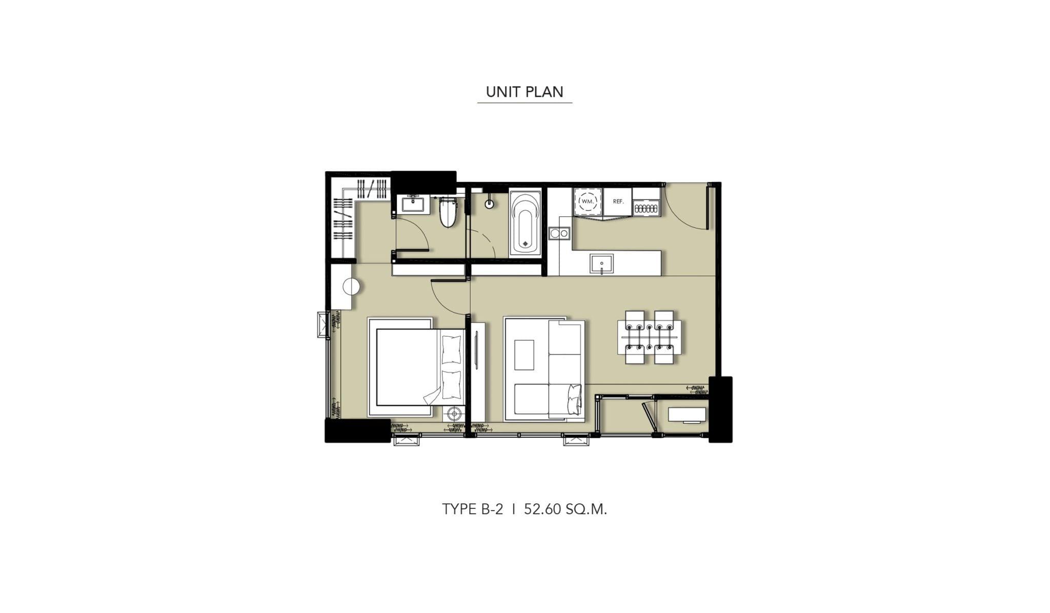 HYDE-Heritage-Thonglor-Floor Plan Type B-2