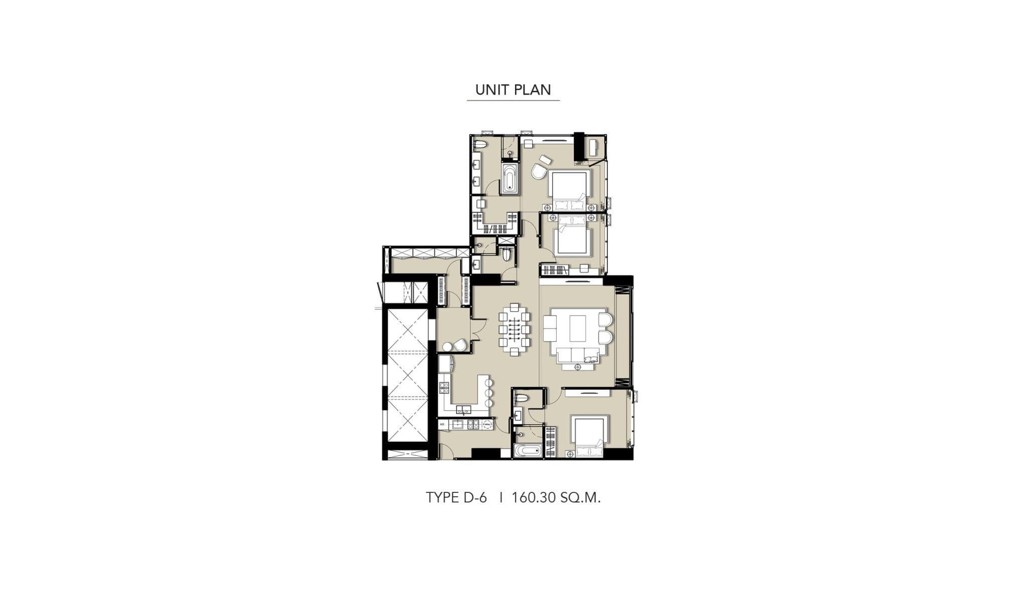 HYDE-Heritage-Thonglor-Floor Plan Type D-6