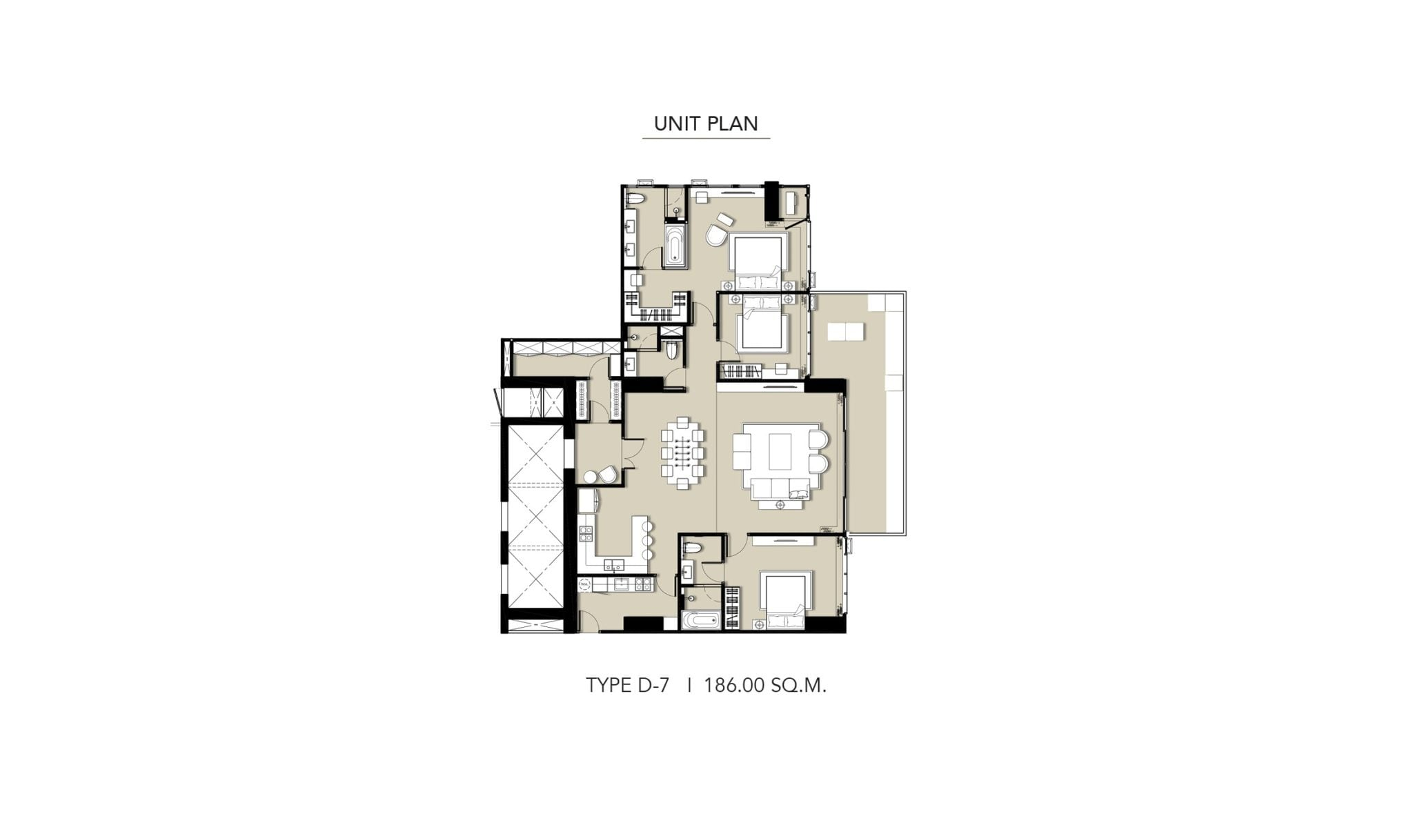 HYDE-Heritage-Thonglor-Floor Plan Type D-7
