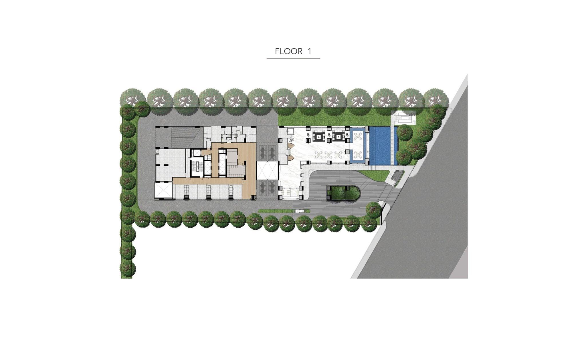 HYDE-Heritage-Thonglor-Site Plan - 1