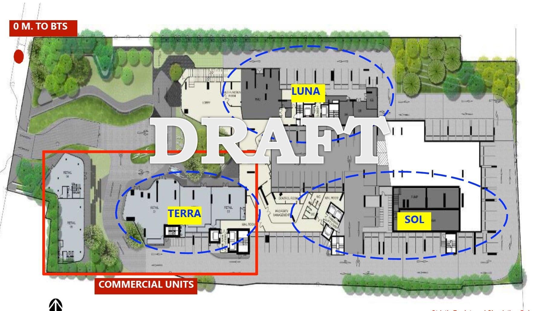 Ideo Q Phahol Saphan Kwai - Master Site Plan