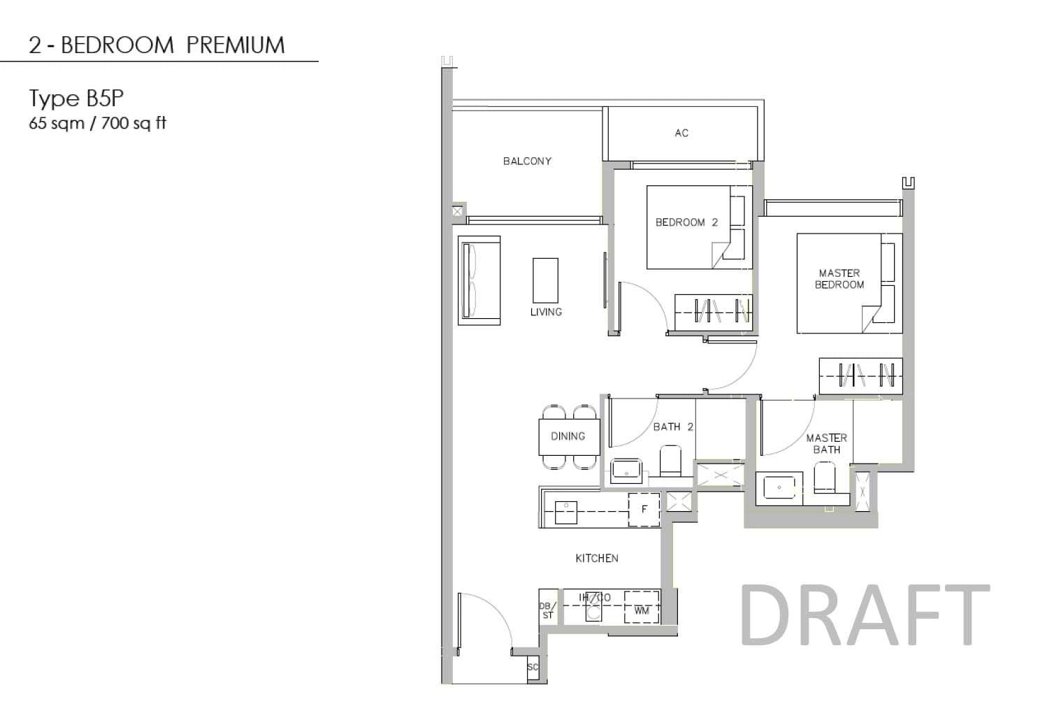 Juniper-Hill-Floor-Plan-2BR Premium