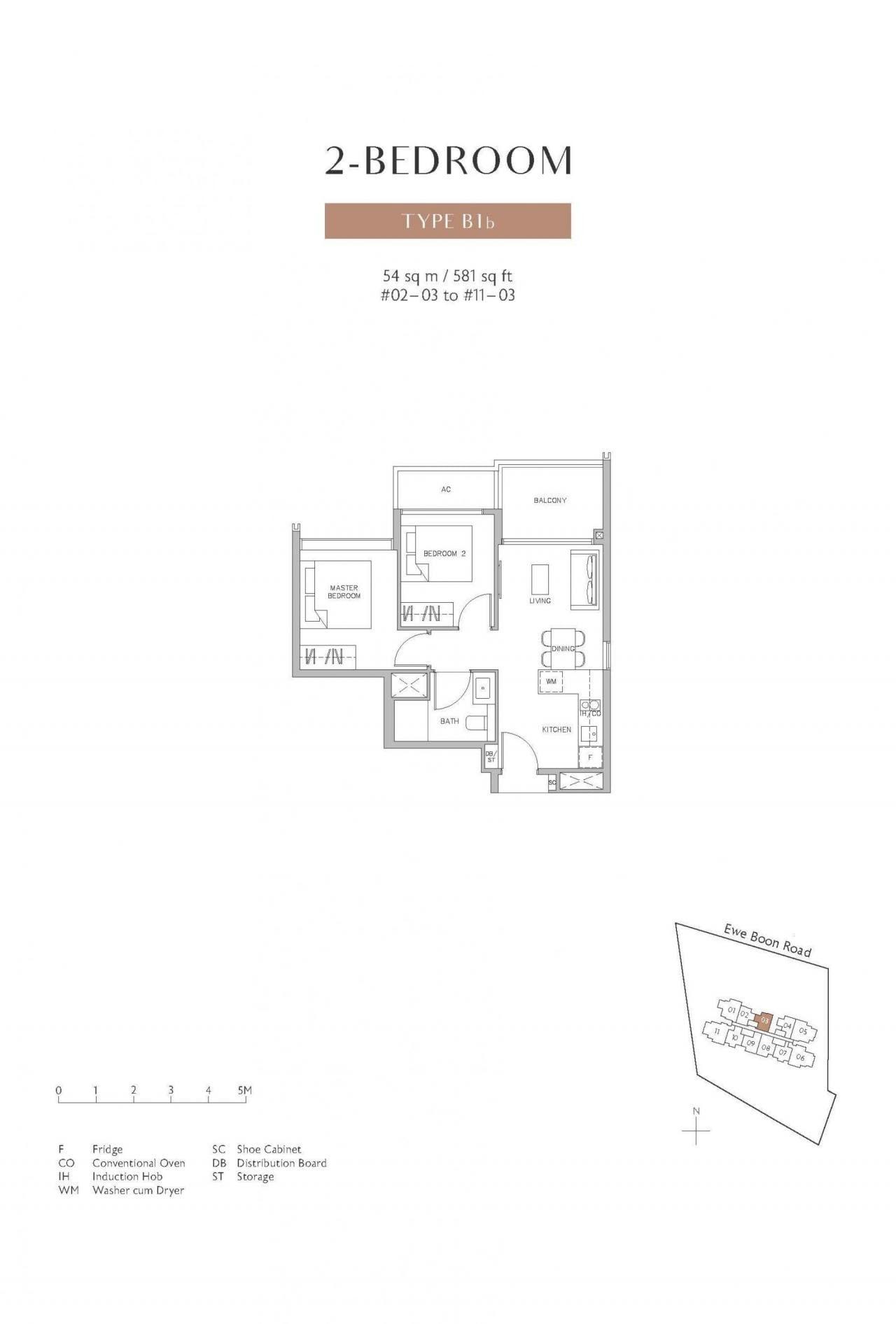 Juniper-Hill-floor plan 2BR B1b