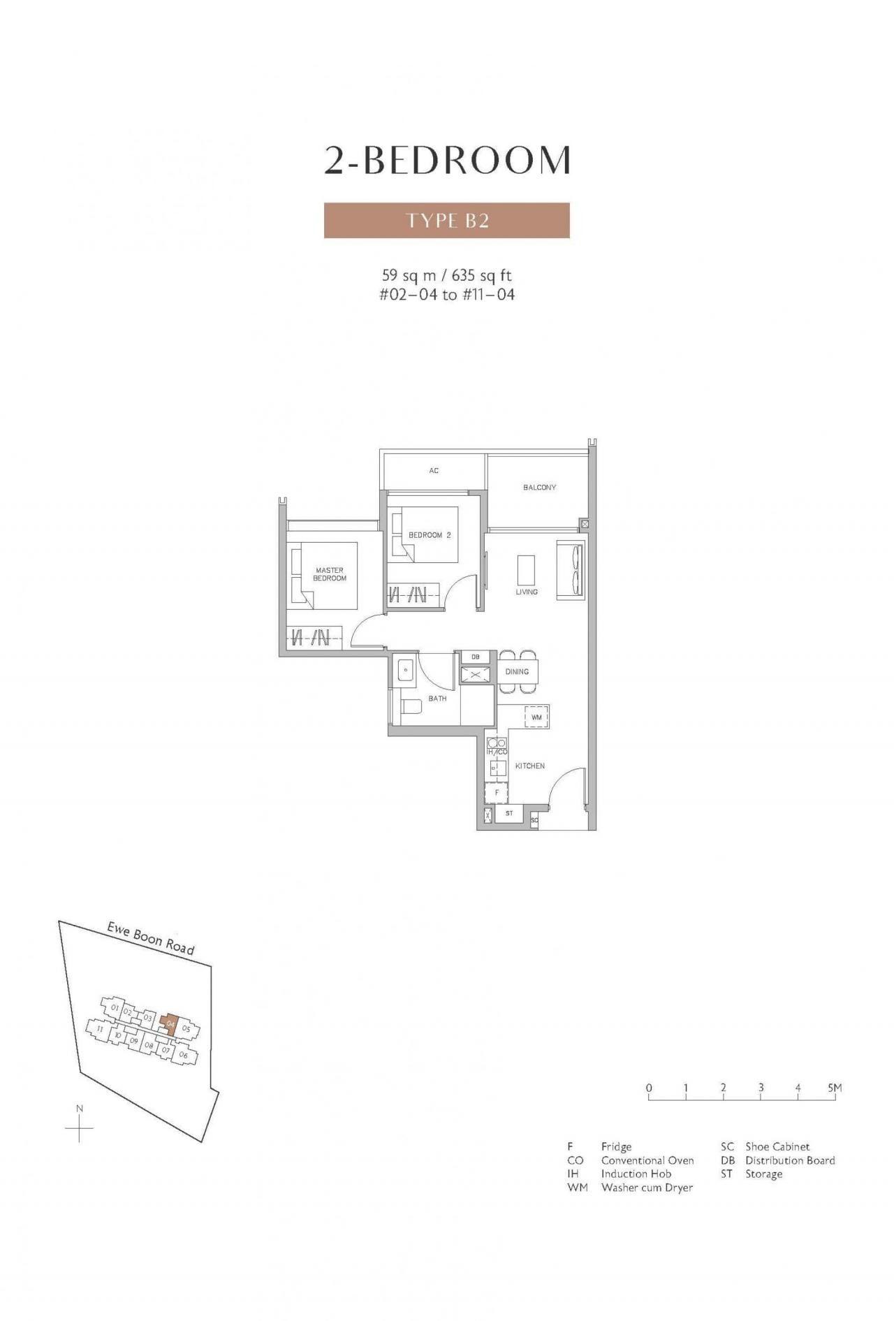 Juniper-Hill-floor plan 2BR B2