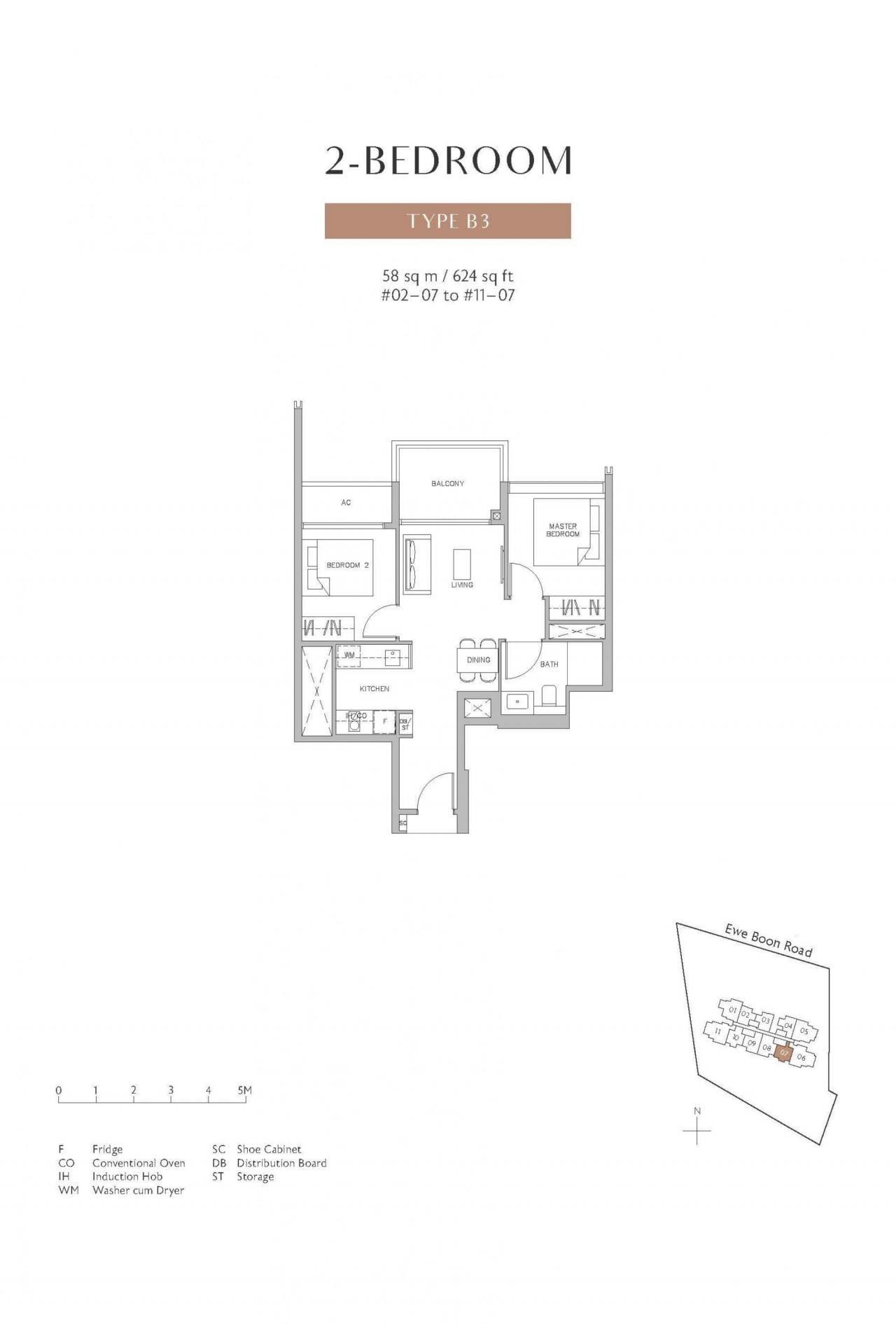 Juniper-Hill-floor plan 2BR B3