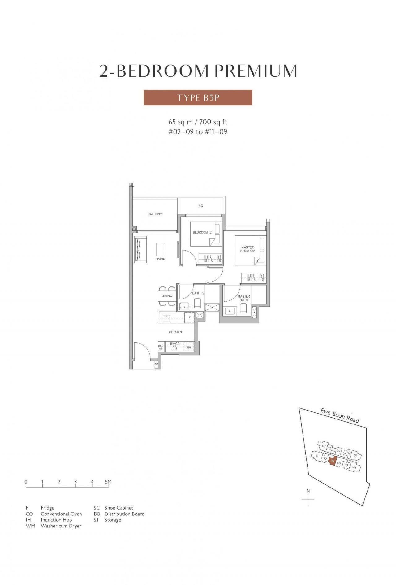 Juniper-Hill-floor plan 2BR B5p