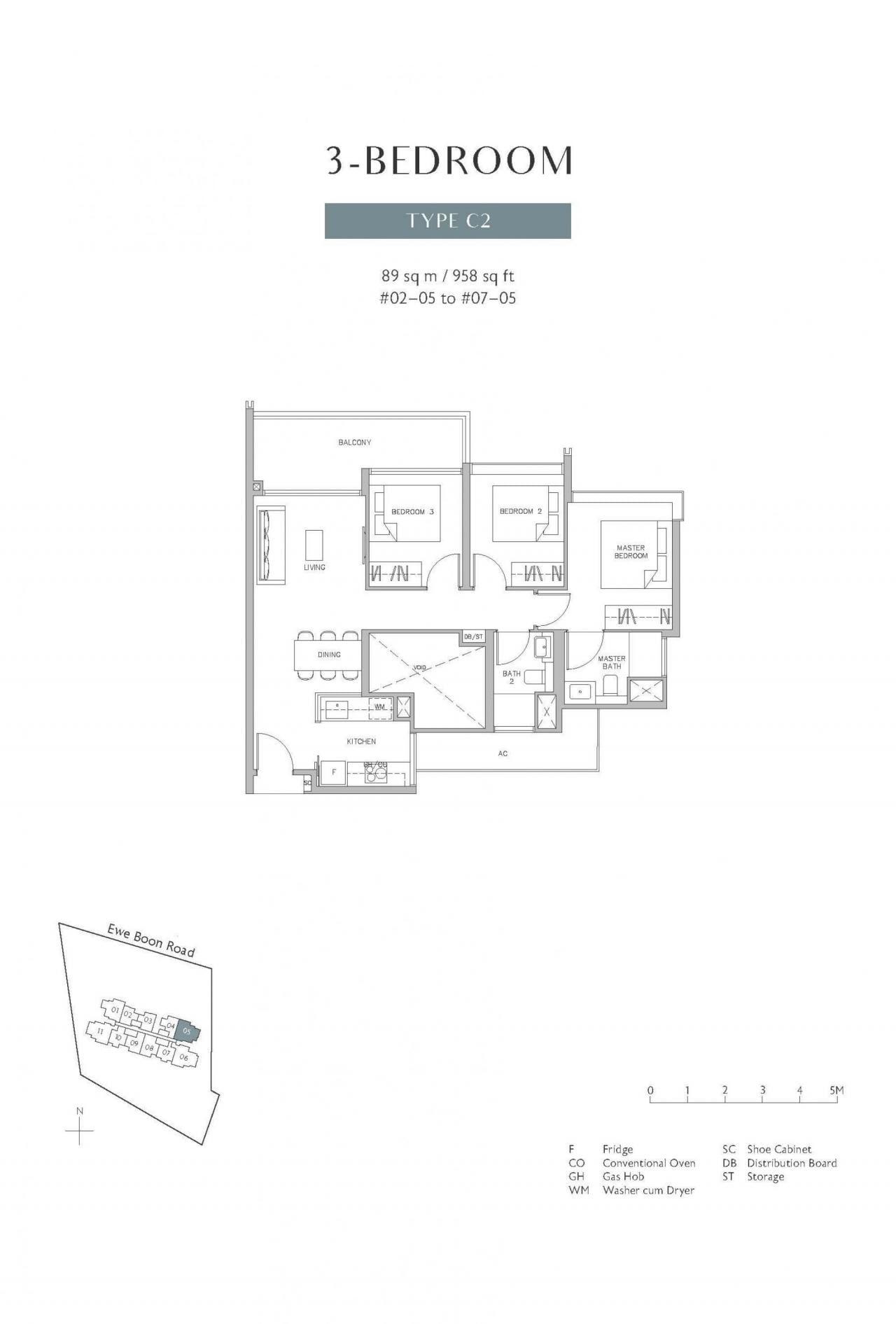 Juniper-Hill-floor plan 3BR C2