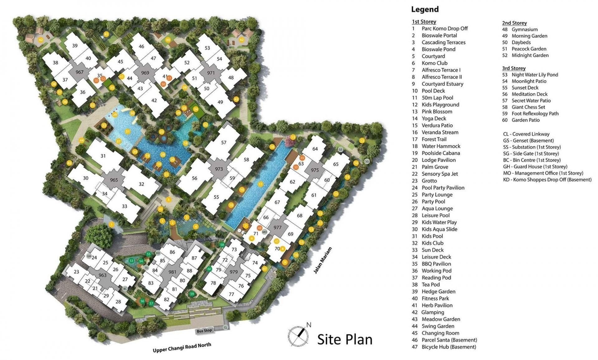 Parc Komo -Site Plan 2