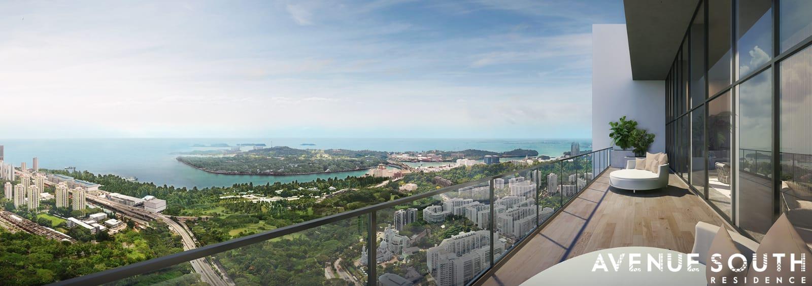 avenue south residences sea view