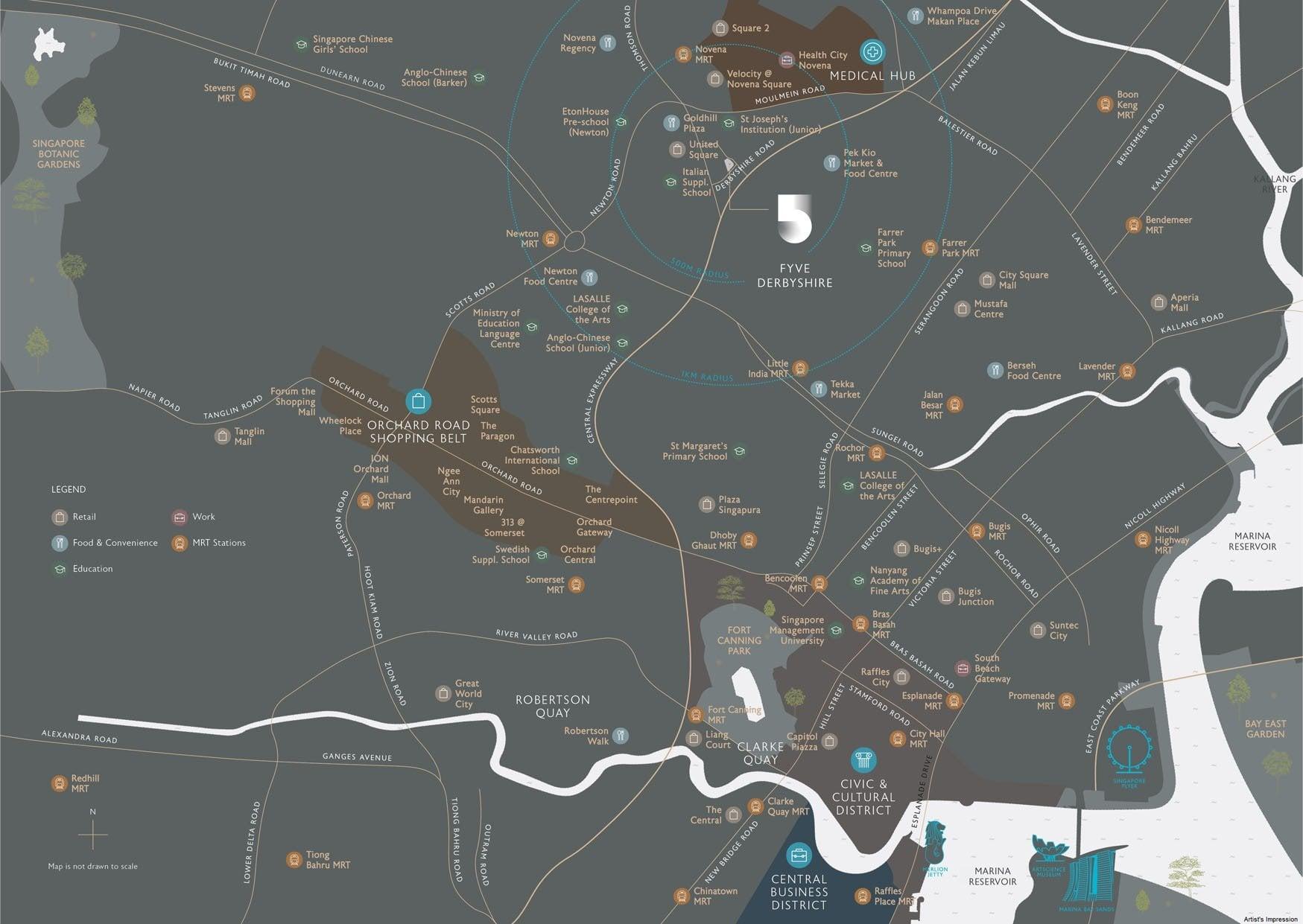 Fyve-Derbyshire-Location-Map