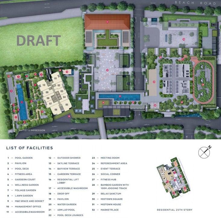 Guoco-Midtown-Bay-Site Plan