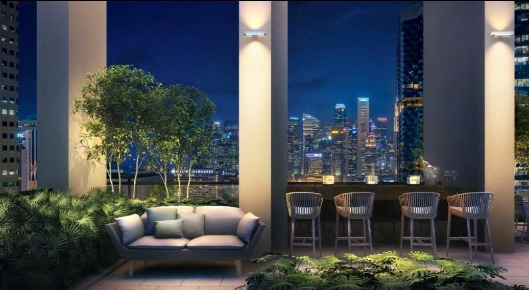 Guoco-Midtown-Bay-Sky Deck CBD View