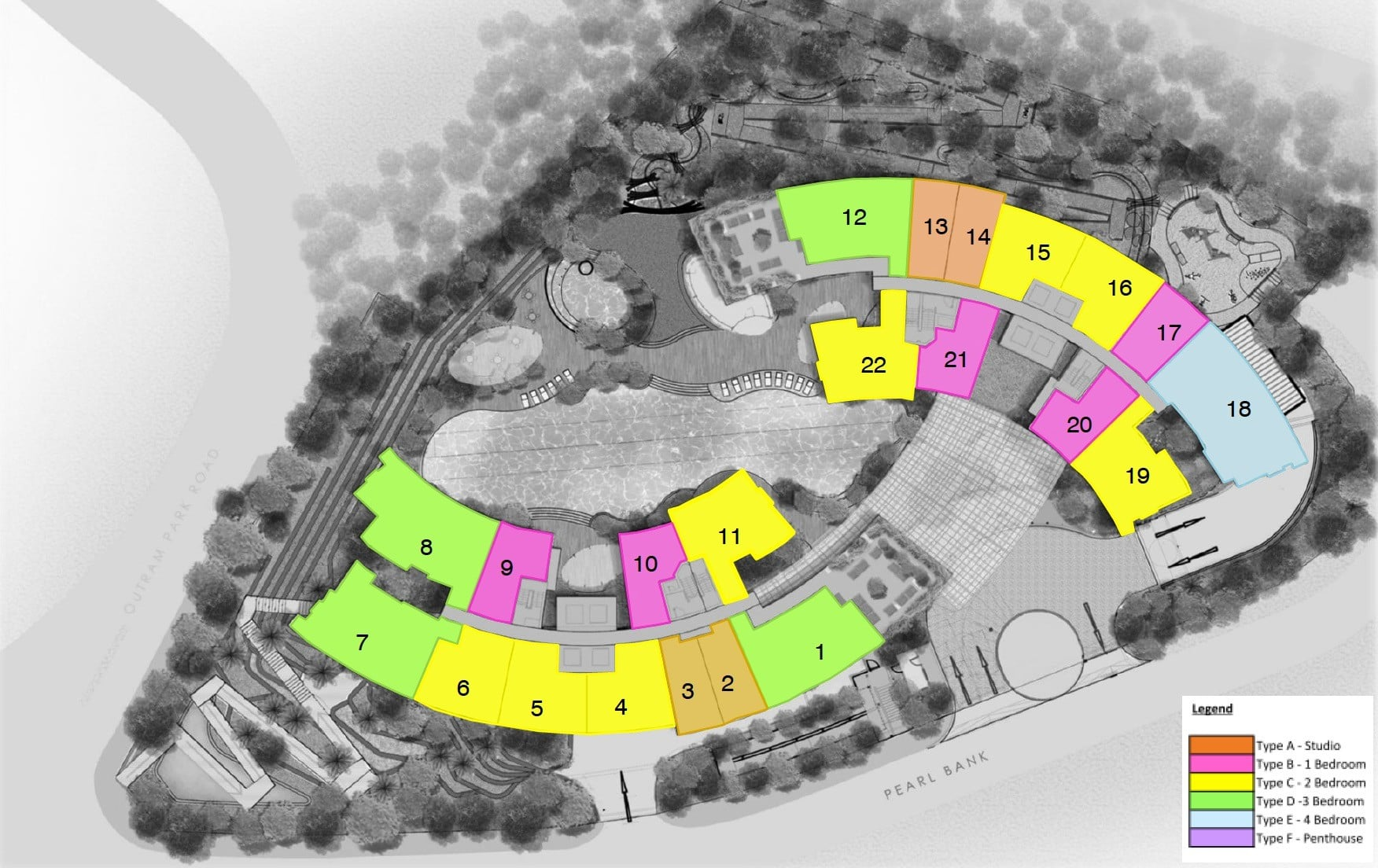 One-Pearl-Bank-Site Plan - 1