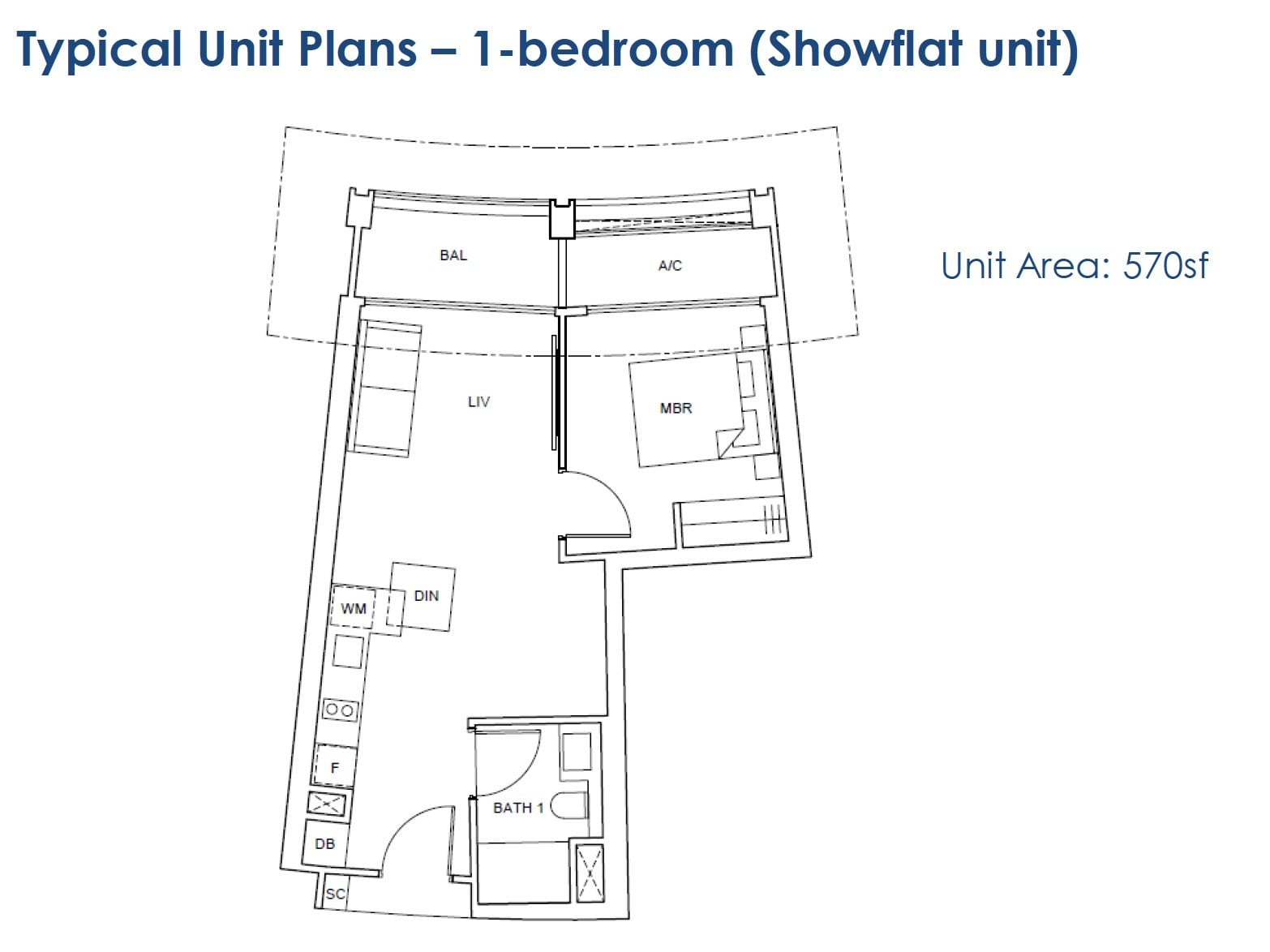 One-Pearl-Bank-floor Plan - 1BR