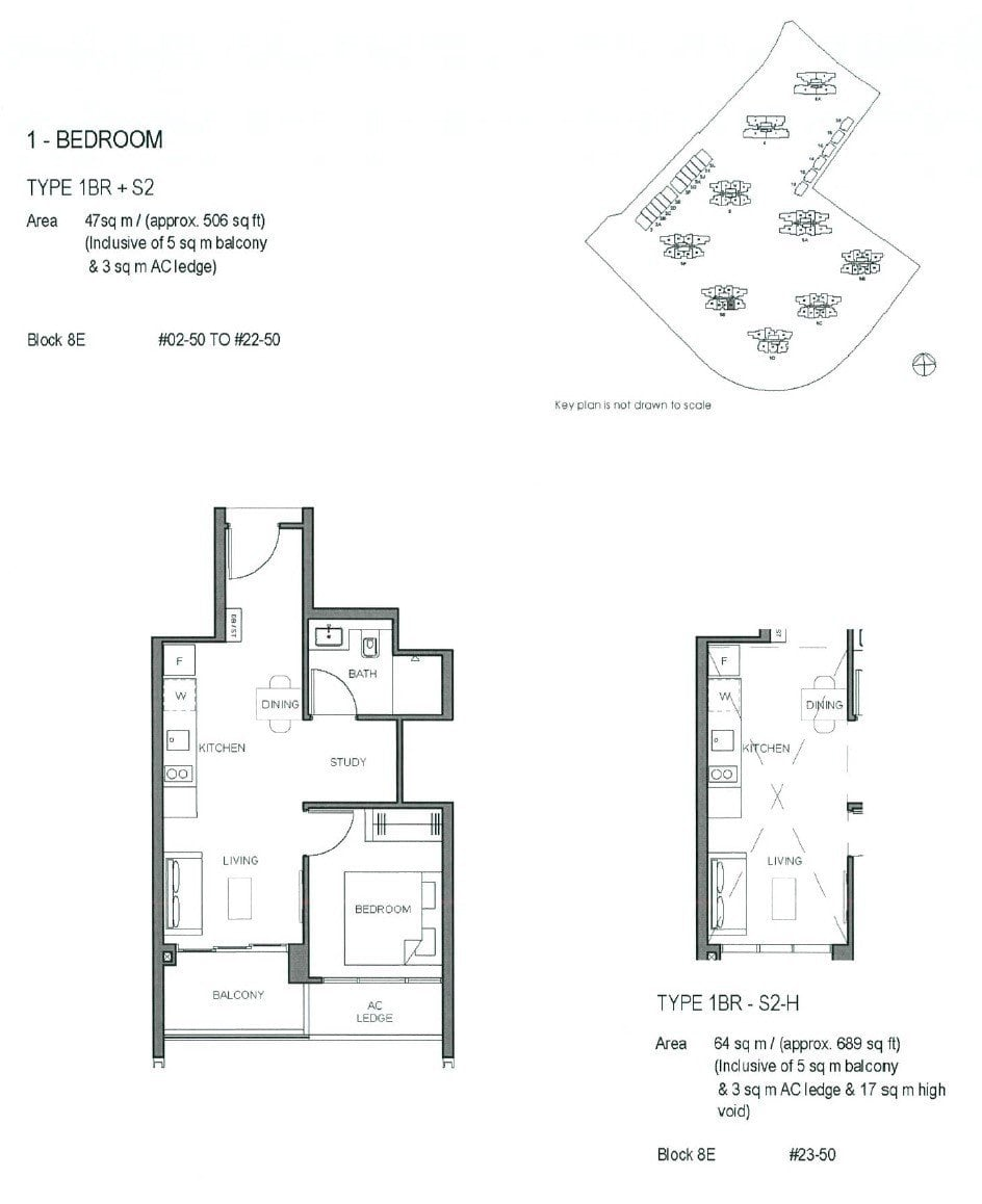 Parc-Clematis-Floor Plan -1BR