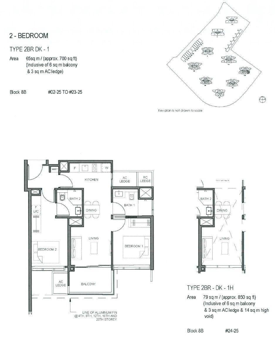 Parc-Clematis-Floor Plan -2BR