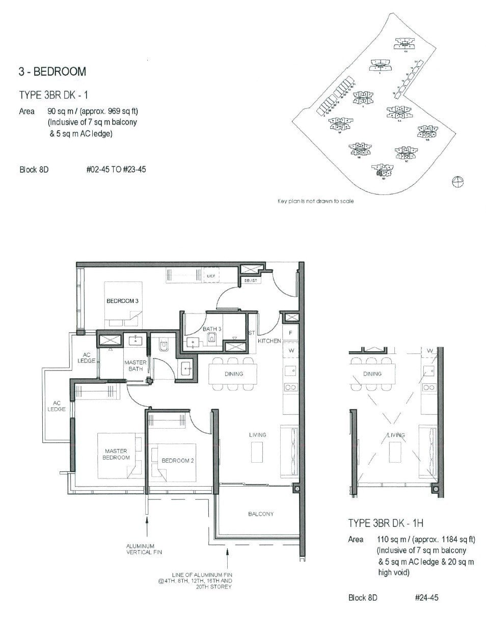 Parc-Clematis-Floor Plan -3BR DK