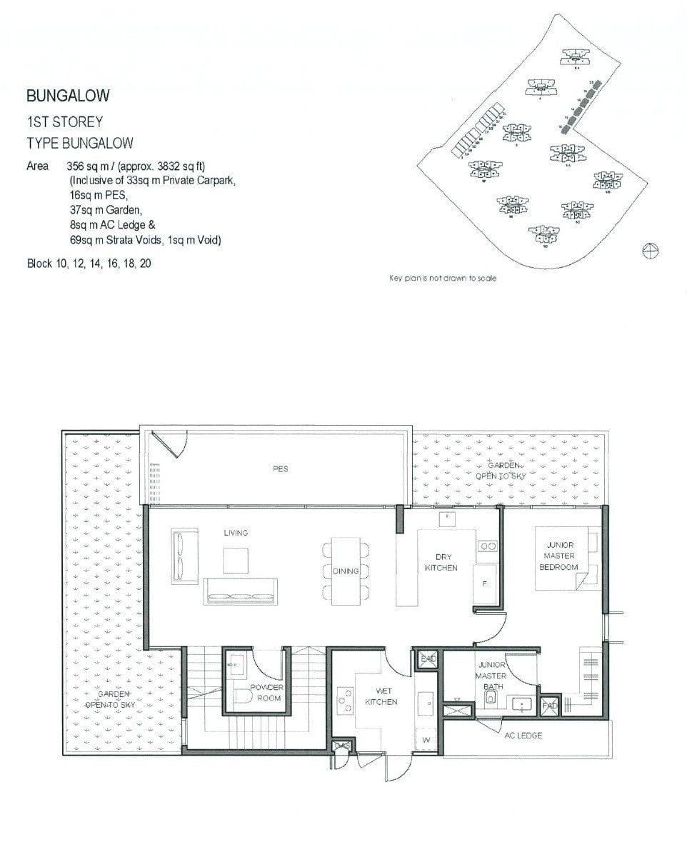 Parc-Clematis-Floor Plan -Bungalow 1