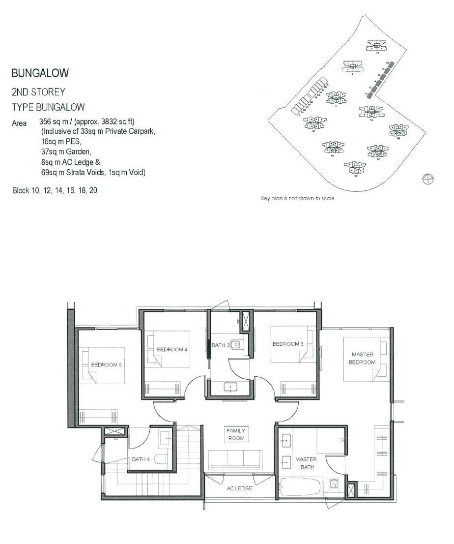 Parc-Clematis-Floor Plan -Bungalow 2