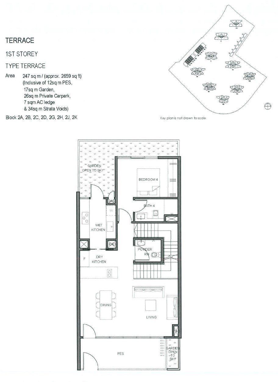 Parc-Clematis-Floor Plan -Terrace 1