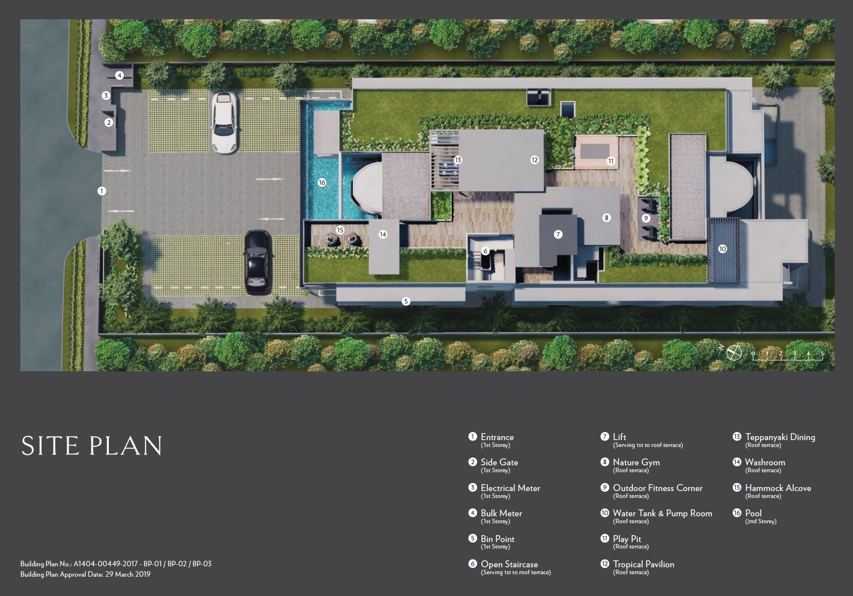 Seraya-Residences- Site Plan