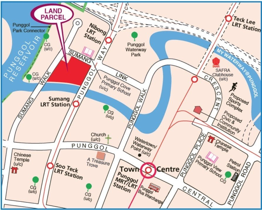 Sumang Walk EC Location