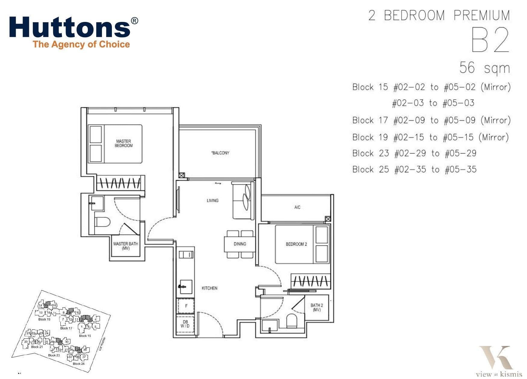 kismis-view-floorplan-2BR-premium