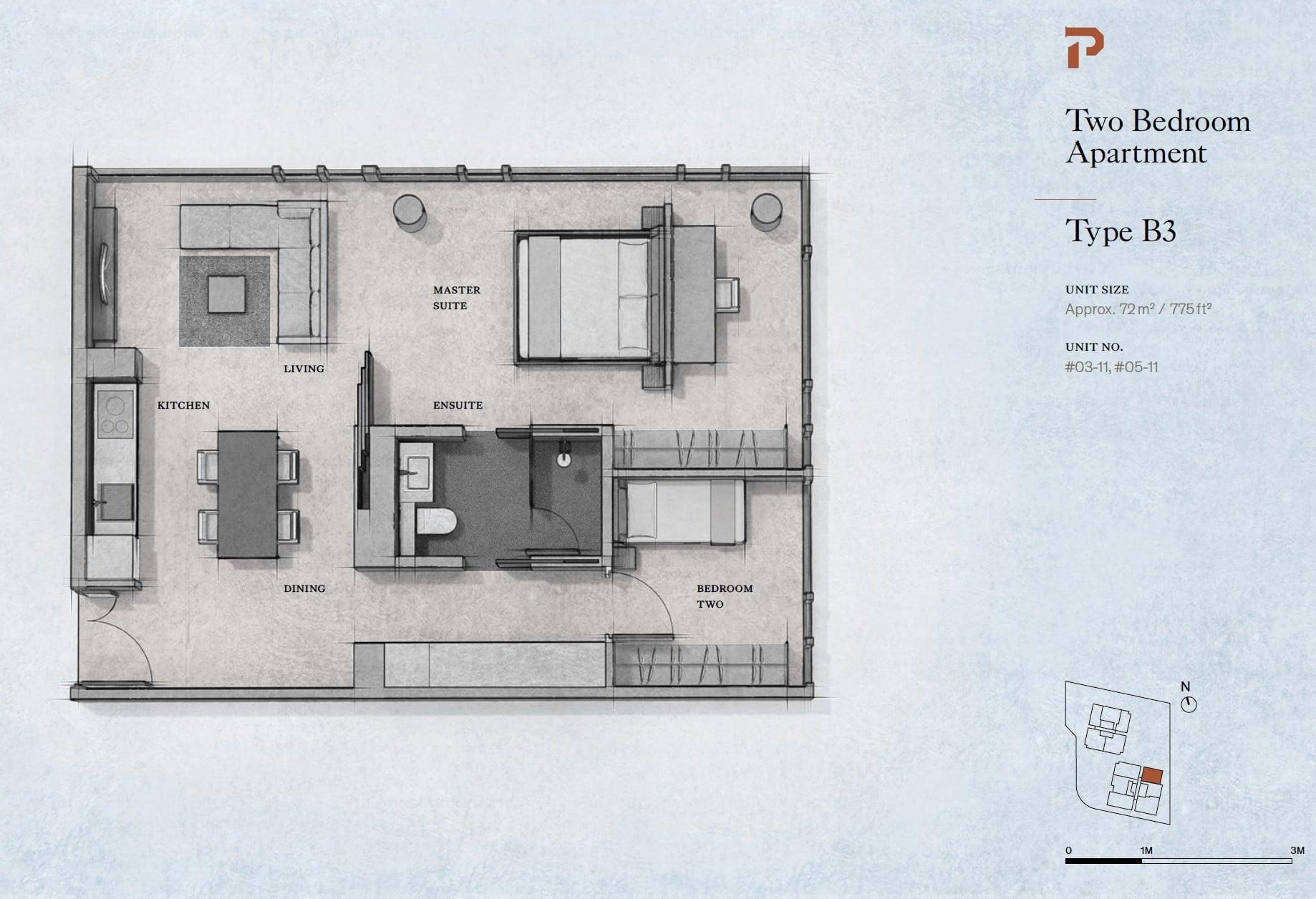 Petit-Jervois-2-bedroom-floor-plan-type-B3