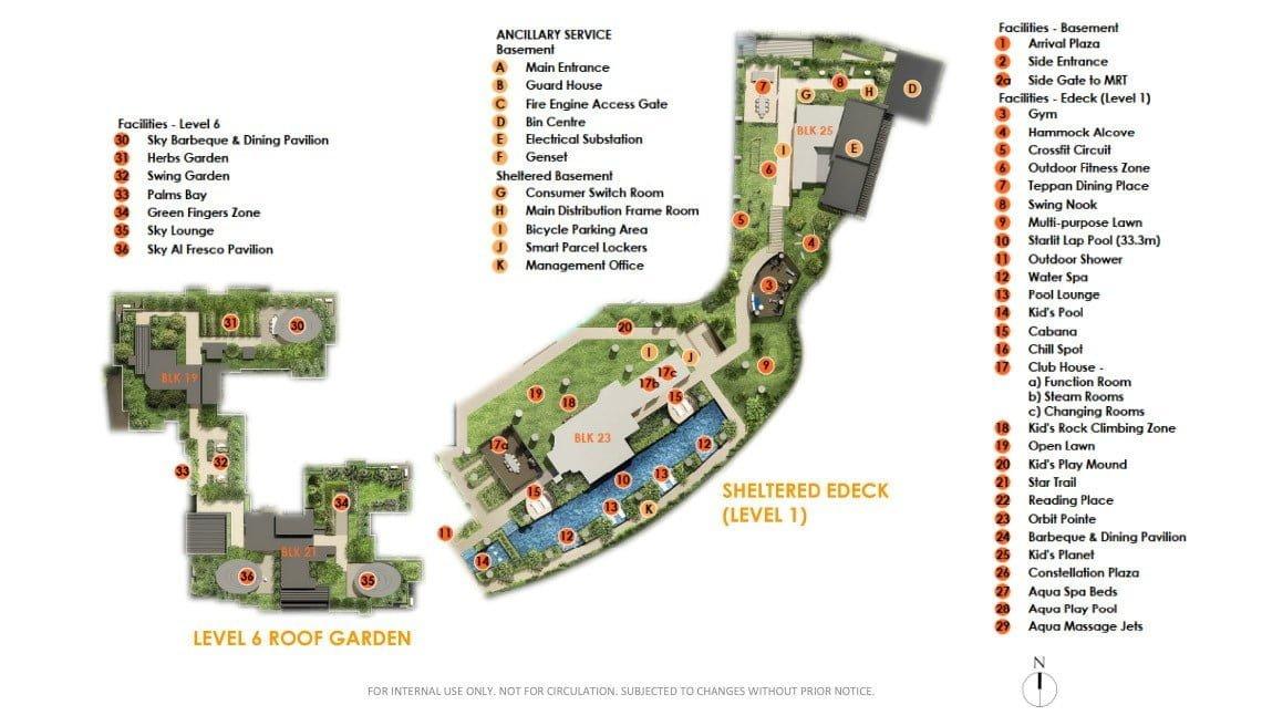The-Antares_Site-Plan Facilities