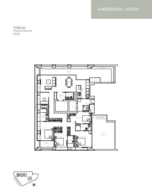 nouvel-18-floorplan 4BR D1