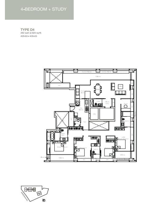 nouvel-18-floorplan 4BR D4