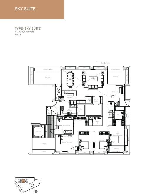 nouvel-18-floorplan Sky Suite