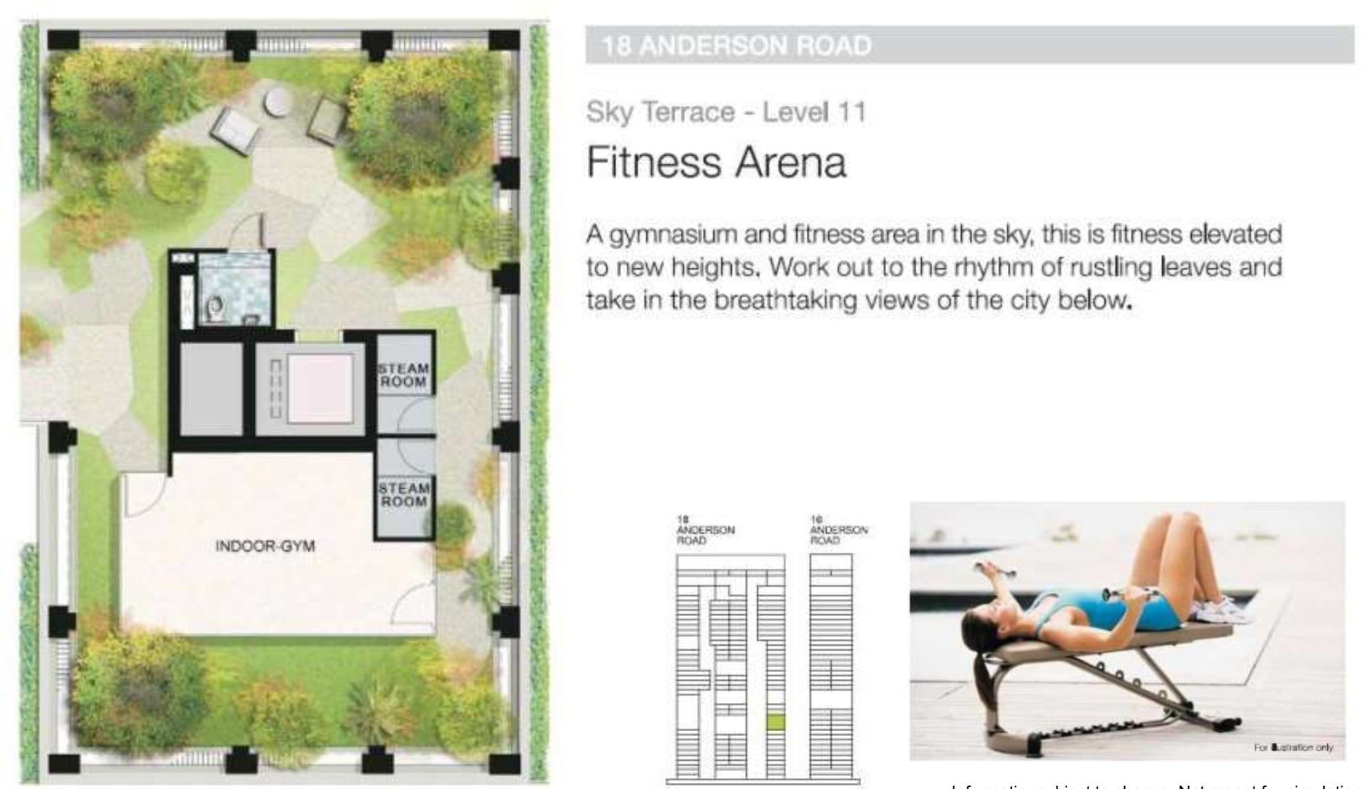 nuovel 18 -sky terrace level 11 B