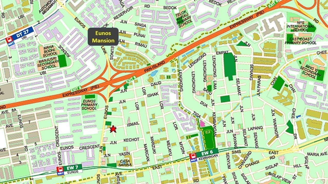 urban treasures eunos map