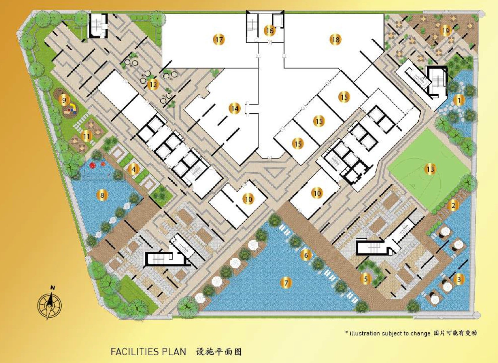 Royal Platinum Site Plan