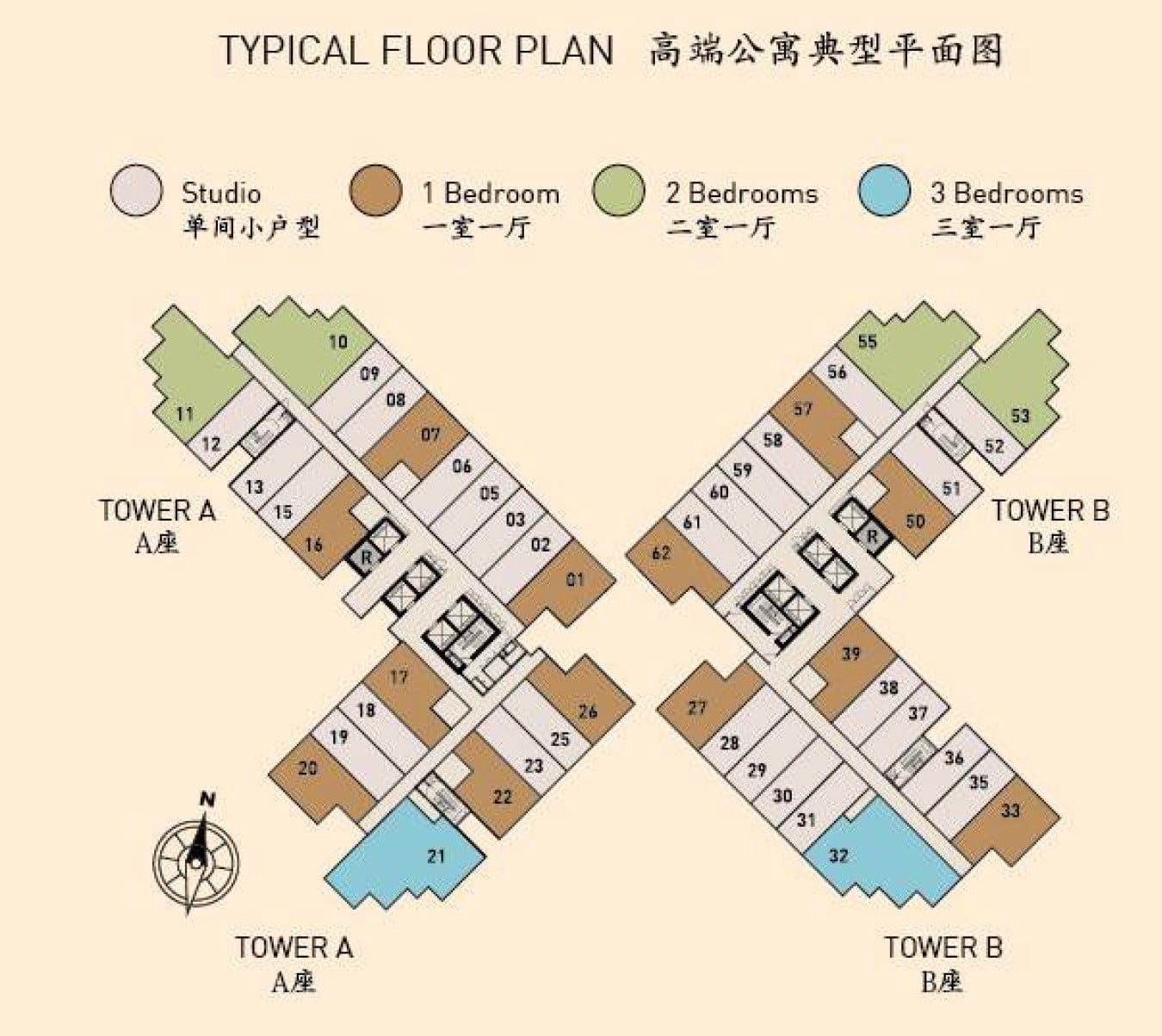 Royal Platinum Typical Floor Plan