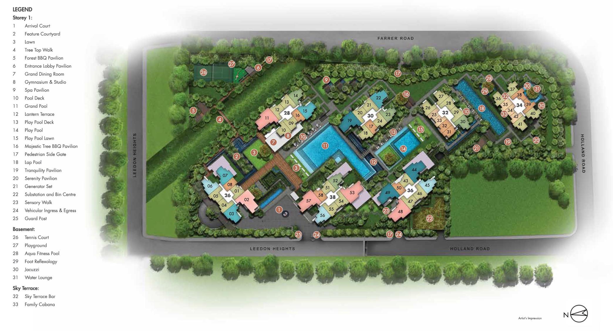 Leedon-Green-Site Plan