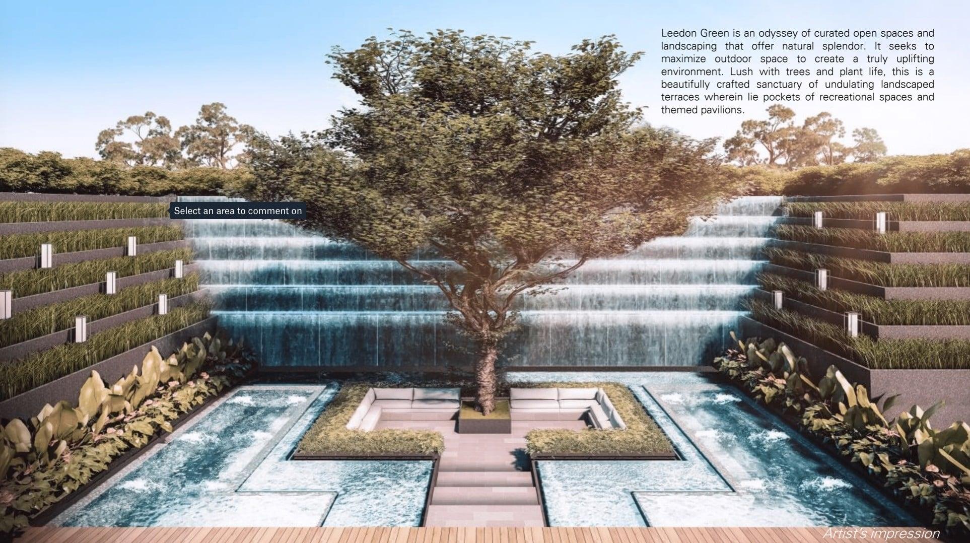 Leedon-Green-waterfall