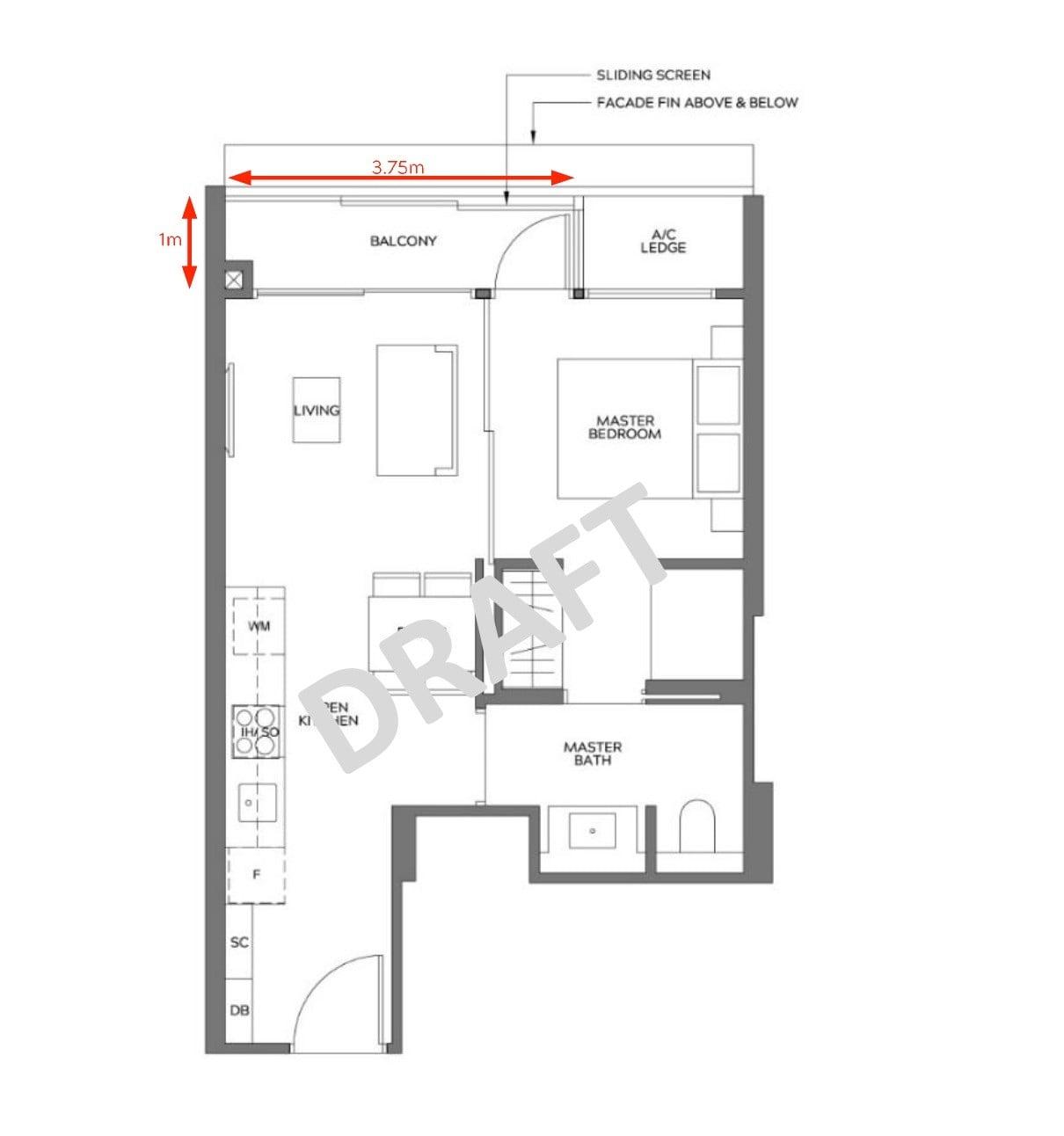 Meyer-Mansion-1BR type A1