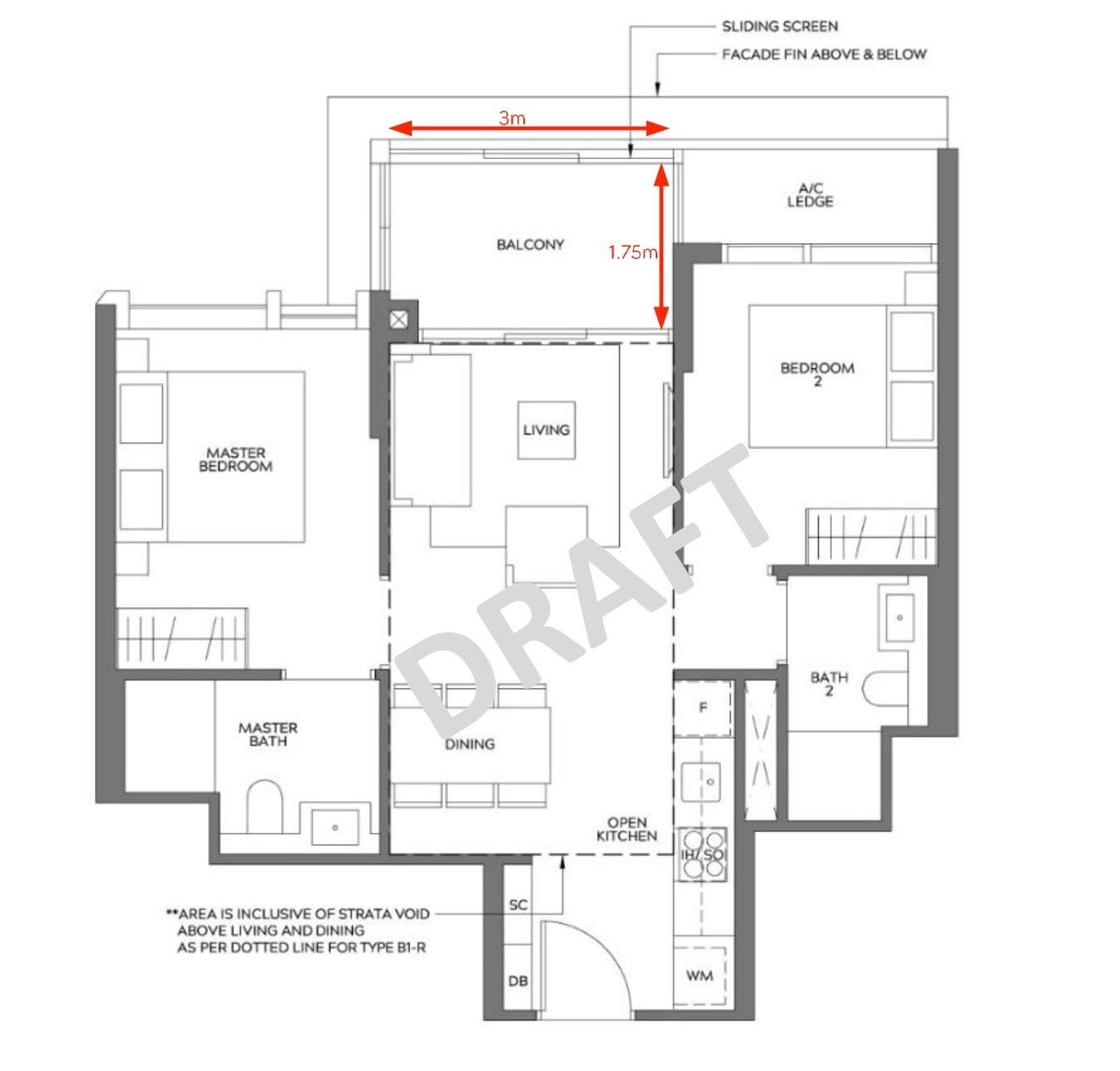 Meyer-Mansion-2BR type B1