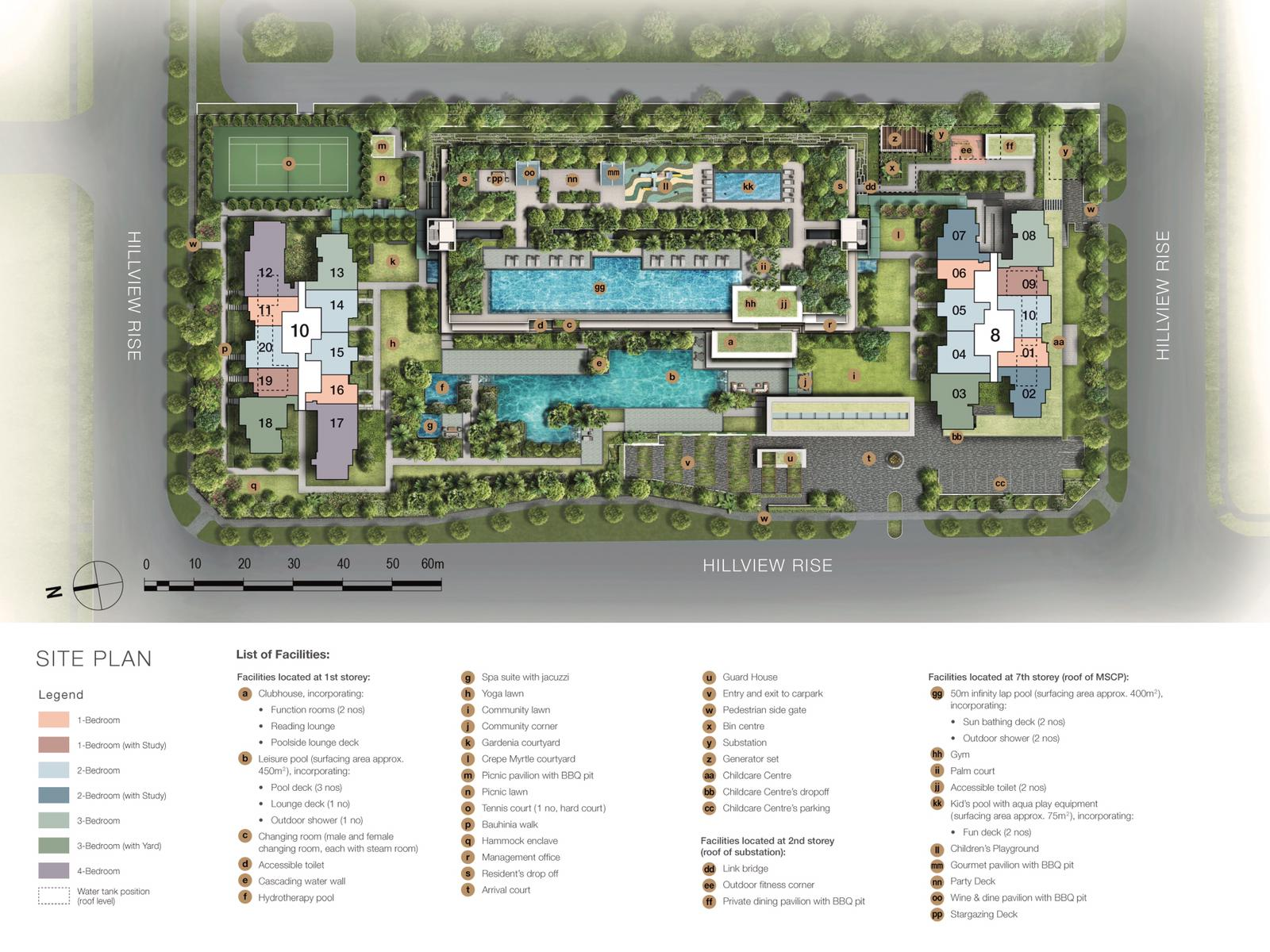 Midwood-hillview-Site Plan