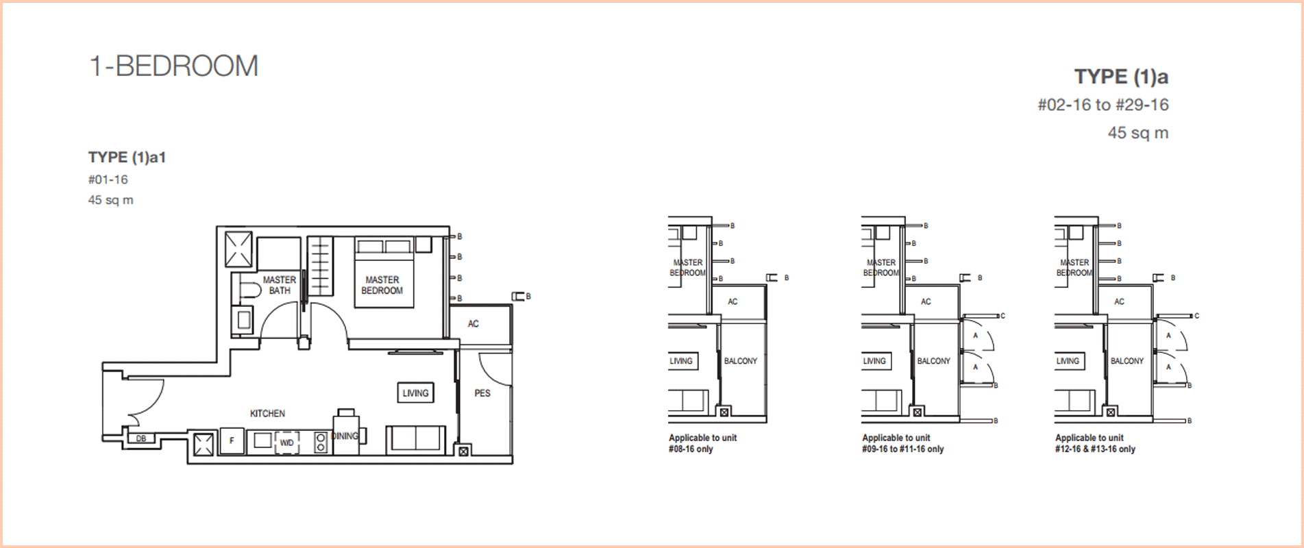 Midwood-hillview-floor plan 1BR 484sf