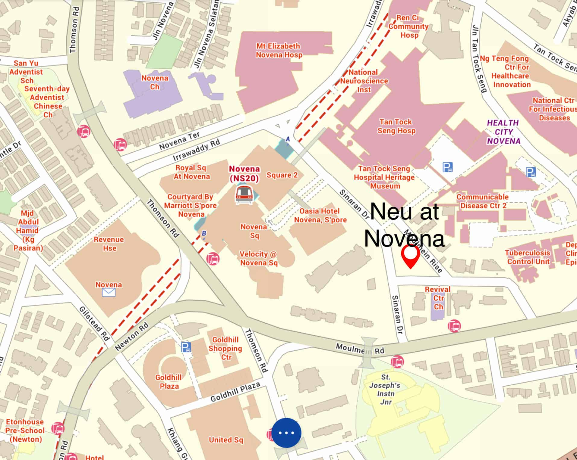 Neu Novena Site Map