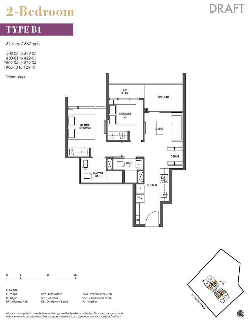 Pullman-Residences-Newton-2BR 667sf