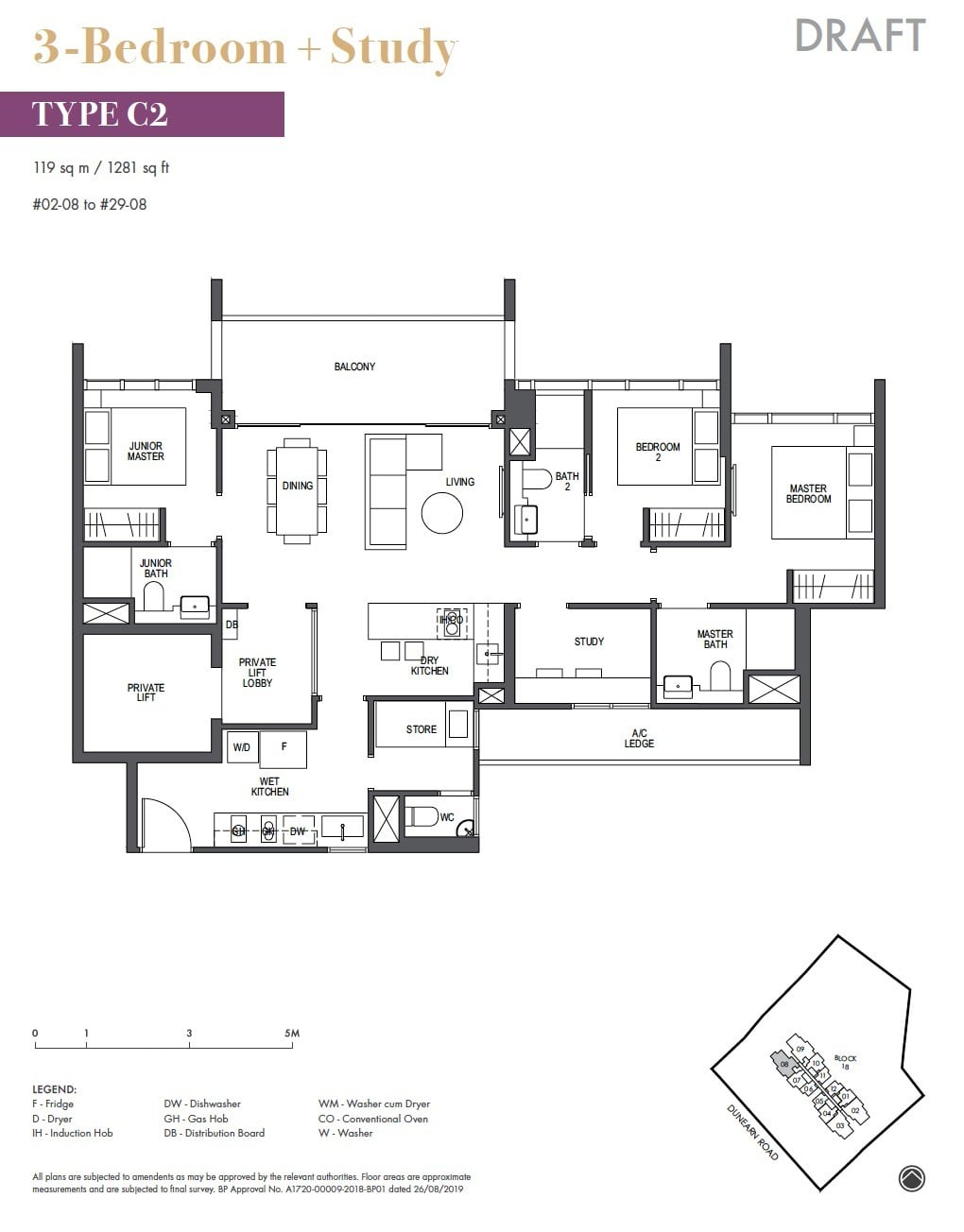 Pullman-Residences-Newton-3BR +S