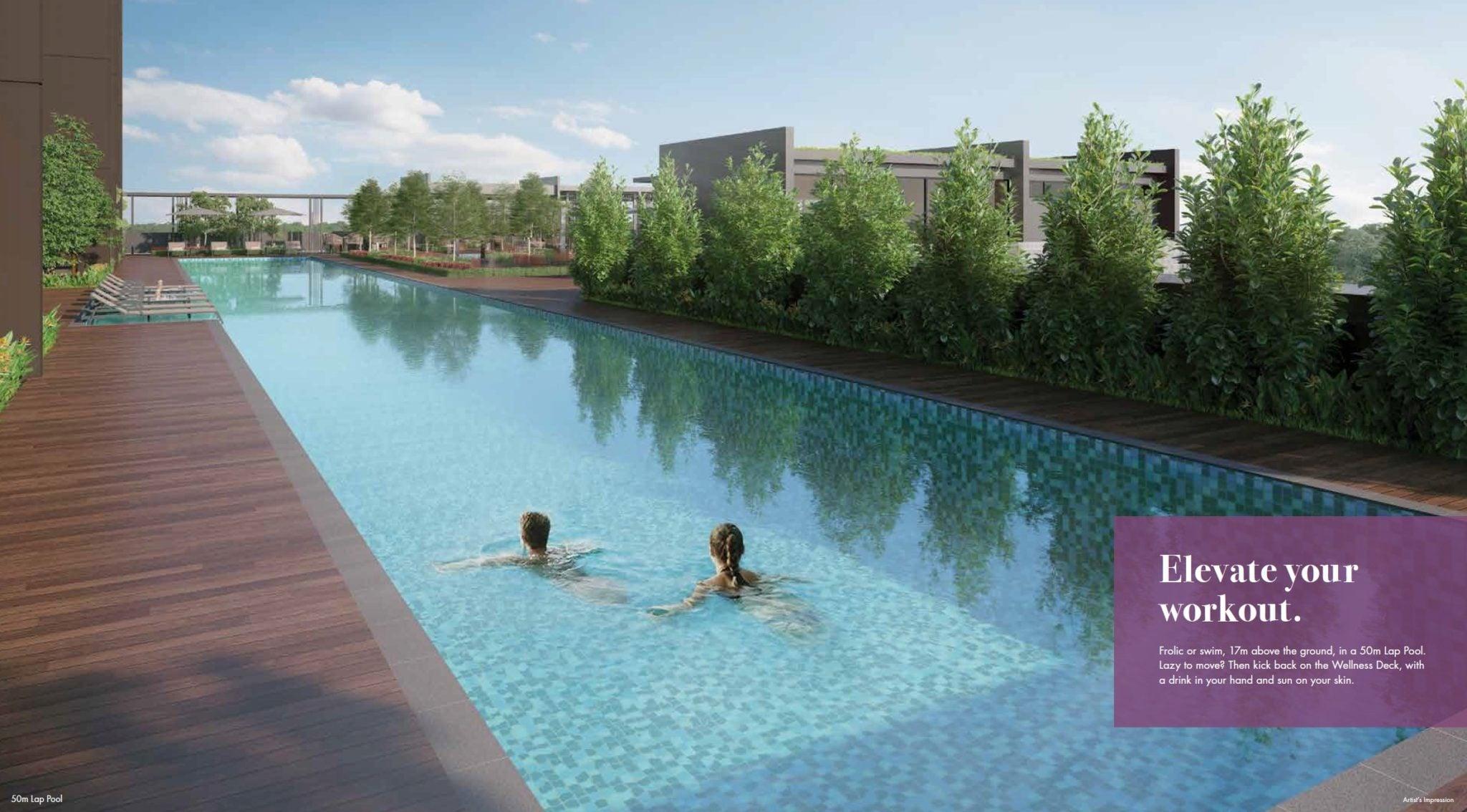 Pullman-Residences-Newton-50m Swimmign Pool
