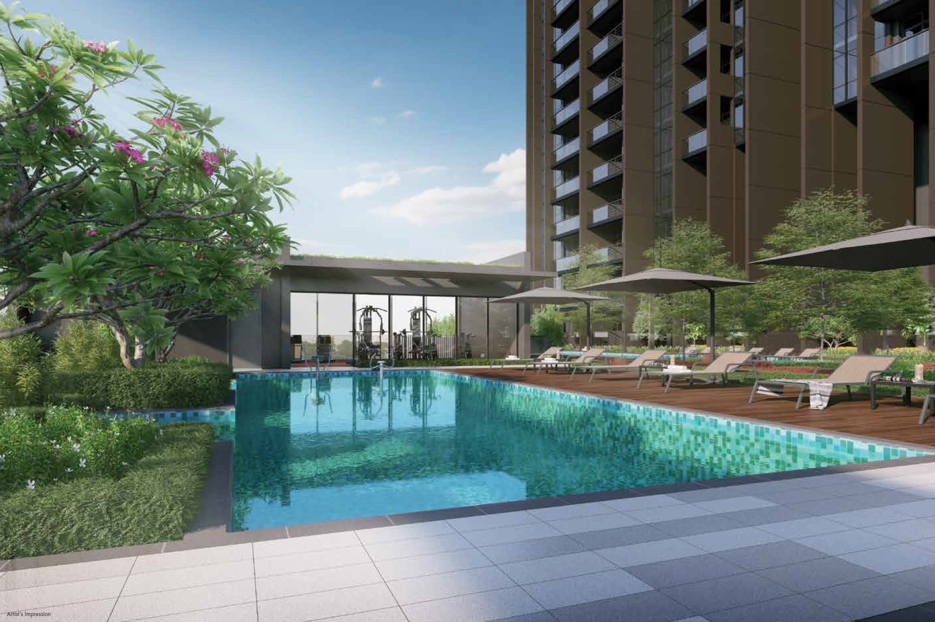 Pullman-Residences-Newton-Swimmign Pool