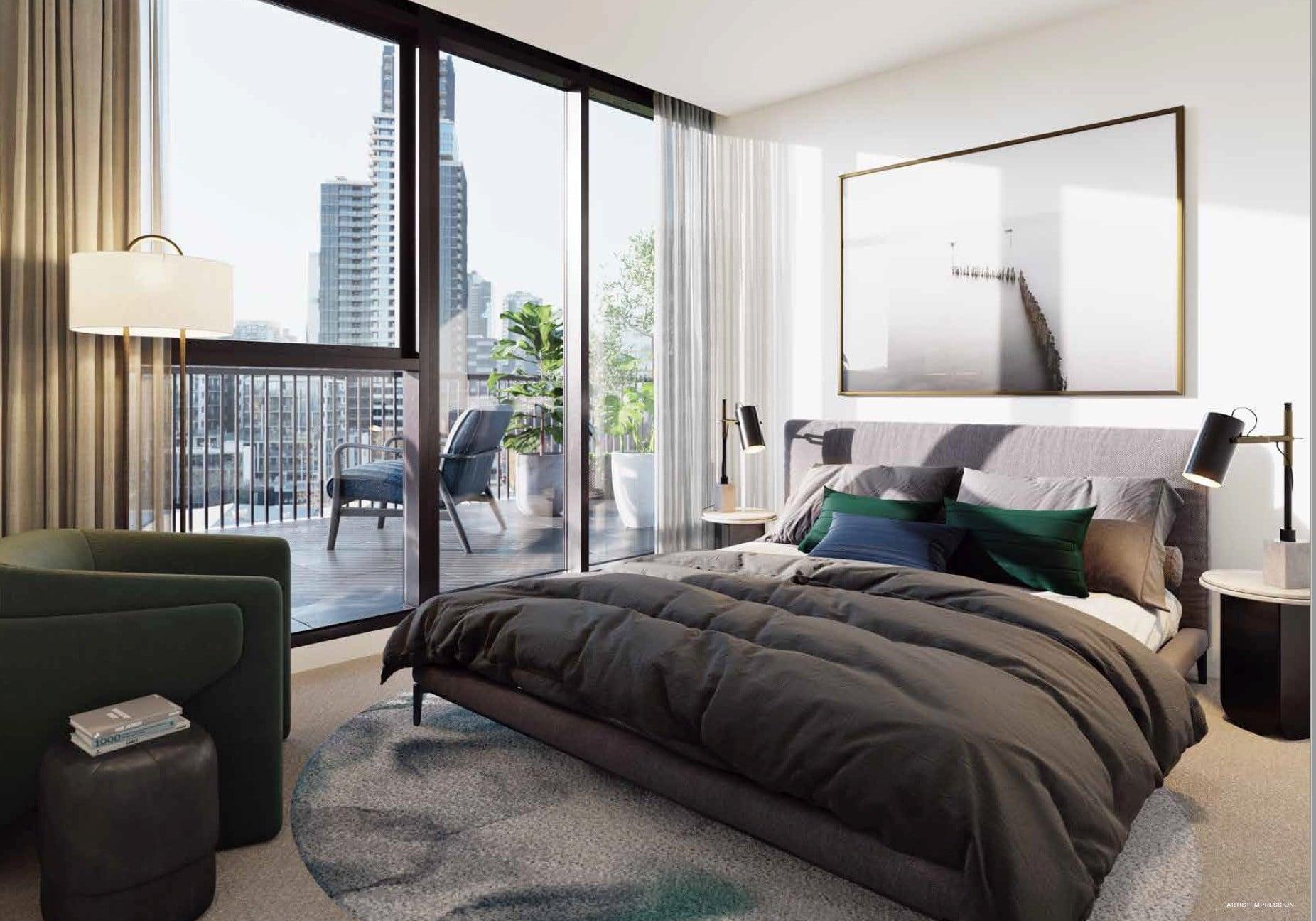 The Marker Melbourne-Bedroom