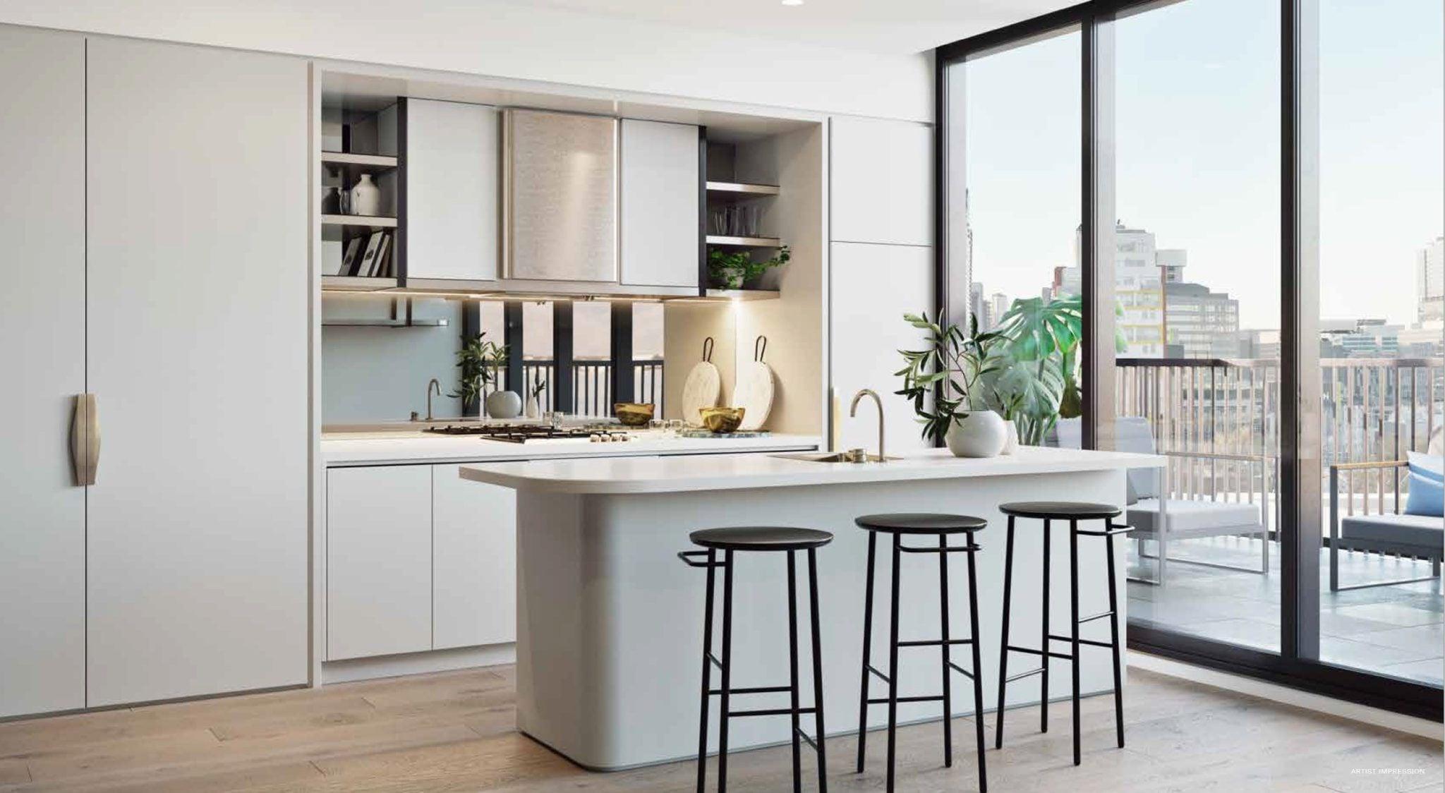 The Marker Melbourne-Kitchen